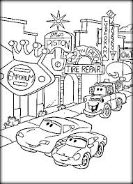 Free Printable Disney Cars Coloring Sheets Pages