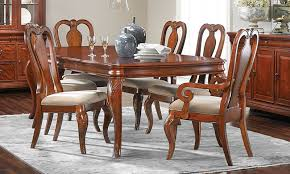 Evolution Queen Anne 7 Piece Dining Set