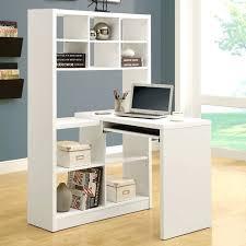 desk white desk with printer storage white floating desk with