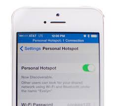 to setup hotspot on iphone 6 in iOS 8 0 2
