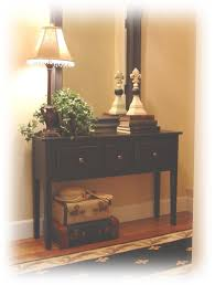 Narrow Sofa Table With Drawers by Notes From A Cottage Industry New Old Entry Table Hall And Foyer