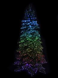Fiber Optic Christmas Trees Canada by Dynamic Starry Night U0026 Static Light Fibre Optic Tree 2 3m