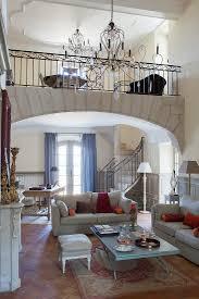 wohnzimmer mit galerie in einem bild kaufen 12360433