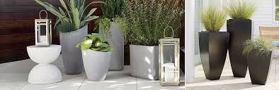 Crate And Barrel Canada Floor Lamps by Outdoor Planters Pots And Garden Tools Crate And Barrel
