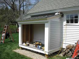 building a firewood shed a concord carpenter