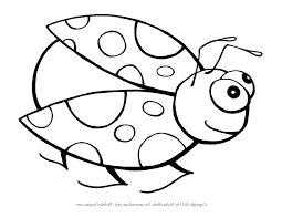 Ladybug Coloring Pages Free Printable Archives With Lady Bug