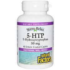 5 Htp Before Bed by Natural Factors Stress Relax 5 Htp 50 Mg 60 Enteric Coated
