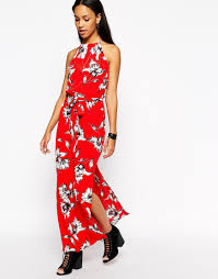 black and white floral dress river island