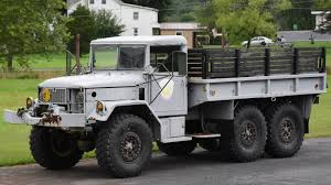100 6x6 Military Truck 1970 M35 Deuce And A Half 6X6 Will Redefine Your Idea Of Rugged