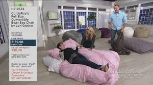 QVC - Clever & Unique Innovations. It's What Lori Greiner... Bean Bag Chair Bed With Pillow And Blanket Cordaroys Full Size Convertible By Lori Greiner With Jill Bauer Ultrasonic 605 Jewellery Cleaner Digital Timer Qvc Uk How Do You Get On Some Tips From Tpreneur And Index Of Qvc2018 Queen Cover Plush Velour Charlie Bears Elisha Panda Exclusive Is Amanda Holdens New Bundleberry Collection For Her Round Bags For Boats Marine Chairs E Style Couch Edited Erica Davies Tropical Print Inoutdoor Sofa Tips