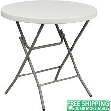 Advantage 32 In. Round White Plastic Folding Table [ADV-32RLZ-WHITE] -  White Granite 8 Folding Table And Chairs Brusjesblog Lifetime White Granite Shopsm Chair 80747 Classic Card Tables Tablecloth Black 42804 Commercial Grade 6foot Plastic Traing Seat Metal Frame Outdoor Safe Set Of 4 80155 Loop Leg Lawn Pack Anders Mandaue Foam Lancaster Seating 72 Round Heavy Duty