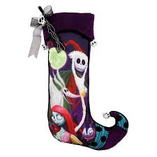 Disney Garden Decor Uk by The Nightmare Before Christmas Holiday Stocking Disney Christmas