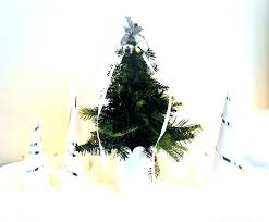 Small Christmas Trees Decorated Download Image Artificial