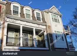 100 Townhouse Facades Modern Low Camera Angle Stock Photo Edit Now