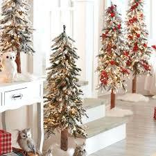 Pre Lit Flocked Artificial Christmas Trees by Alpine Pre Lit Christmas Tree U2013 Amodiosflowershop Com