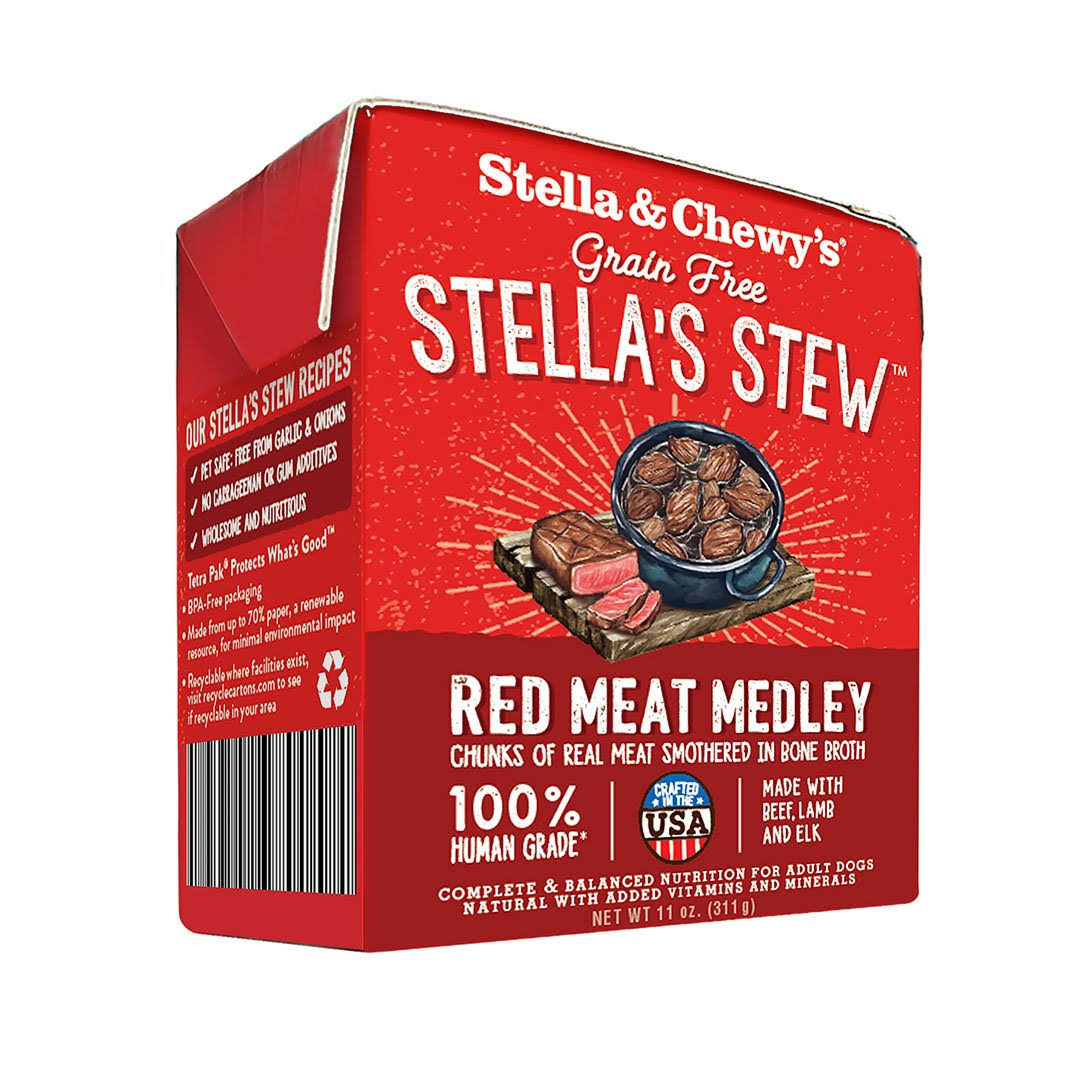 Stella & Chewy's 11 oz Red Meat Medley Dog Food
