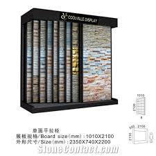 Mosaic Display Racks Acrylic Stands Sculpture Stand New Caledonia Sandstone Black Bianco China