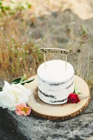 Single Tiered Wedding Cakes