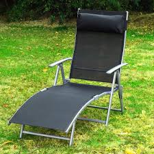 Outsunny Adjustable Folding Reclining Chair Outdoor Sun Lounger Patio  Chaise Lounge Garden Beach Gravity Lounge With Pillow Black Kawachi Foldable Recliner Chair Amazoncom Lq Folding Chairoutdoor Recling Gardeon Outdoor Portable Black Billyoh And Armchair Blue Zero Gravity Patio Chaise Lounge Chairs Pool Beach Modern Fniture Lweight 2 Pcs Rattan Wicker Armrest With Lovinland Camping Recliners Deck Natural Environmental Umbrella Cup Holder Free Life 2in1 Sleeping Loung Ikea Applaro Brown Stained