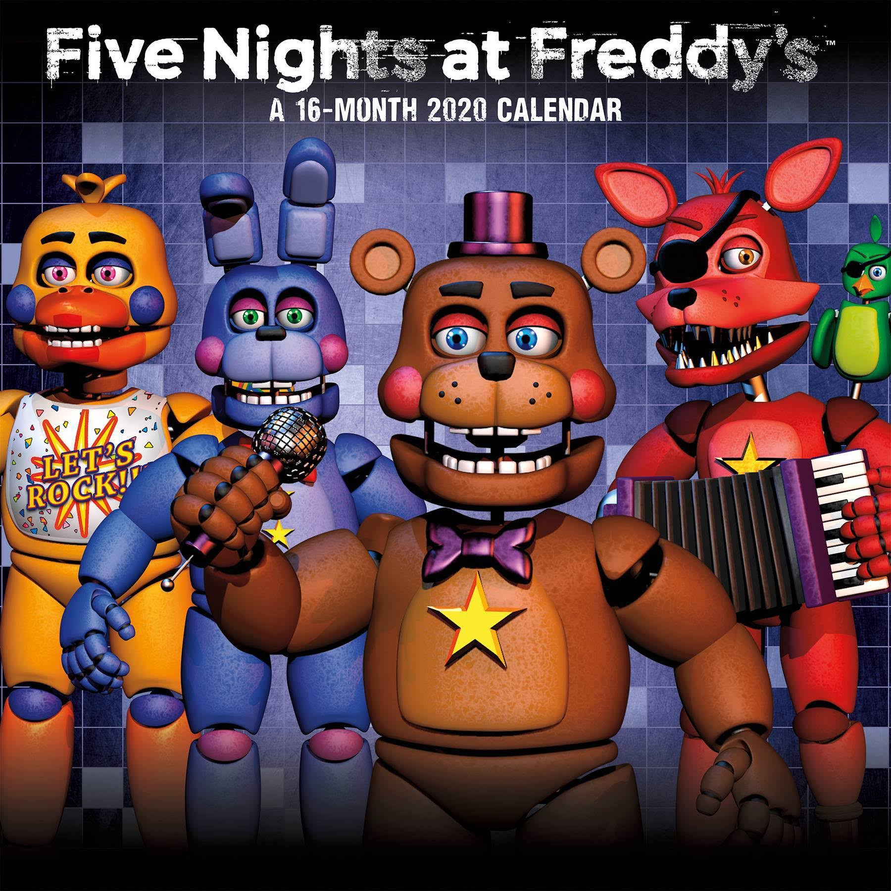 Trends International 2020 Five Nights at Freddy's Wall Wall Calendar
