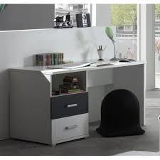 bureau gris blanc bureau pour ado meuble gris et blanc moderne chambre enfant