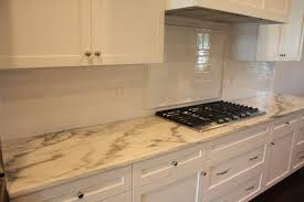 Carrara Marble Tile Backsplash by Kitchen Backsplash Marble Subway Tile Marble Flooring Carrera