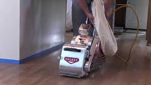 Clarke Floor Sander Edger Super 7r by Sanding A Hardwood Floor With The Galaxy Omega 8 Youtube