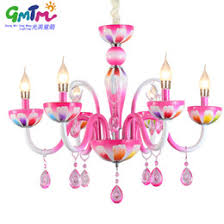 Online Shopping Contemporary Chandelier HOT SALE Living Room Ceiling Lights Chandeliers Pink Candle For The