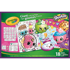 Crayola Shopkins Giant Coloring Pages On ShopSavvy