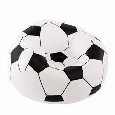 Kmart Football Bean Bag Chair by Bestway Kids Inflatable Sports Chair