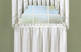 White Eyelet Kitchen Curtains by Curtains Kitchen Curtains Yellow Illustrious Modern Yellow