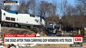 GOP Lawmakers Aboard Train That Collides With Truck - CNN Video Train Collides With Ups Truck In Stilwell Fort Smithfayetteville Tunisian Train Hits Truck Blocking Tracks 18 Dead The San Diego Amtrak Collides Carrying Bacon Near Wilmington Trirail Garbage Lake Worth Sun Sentinel Hydrochloric Acid Road Reopens Residents Allowed Back Homes Gop Lawmakers Aboard That Cnn Video Dump Stow Fox8com Multiple Cows Killed After Torn Apart By Two Trains At Rail Crossing Kazakhstan Youtube Carrying Lawmakers Hits 1 On Killed Stalled Semi Sebree As Csx Works Multiple Crossings Closes Hanson East Of Fowler