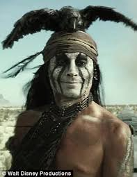 armie hammer and johnny depp saddle up as the lone ranger and his