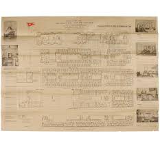 Titanic B Deck Plans by First Class Deck Plan