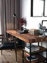 bureau en bois design grand bureau bois meetharry co