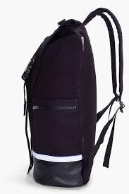 Oakley Backpack Kitchen Sink by Adidas Slvr Black Leather Trimmed Mesh Backpack In Black For Men