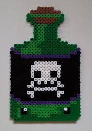 Halloween Perler Bead Templates by 207 Best Halloween Perler Images On Pinterest Hama Beads