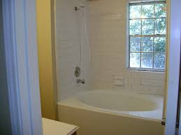 bathroom corner tub shower combo for small space and subway