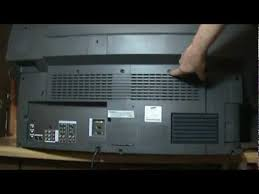 how to replace a samsung dlp color wheel hlm507w bp96 00250a part
