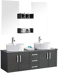 de badezimmermöbel doppel waschtisch modell