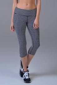 glyder mantra crop striped leggings from fayetteville by gatsby u0027s