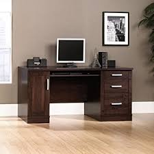 Sauder Office Port Executive Desk Assembly Instructions by Amazon Com Sauder 408291 Office Port Credenza Dark Alder