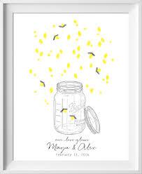 Mason Jar Wedding Guest Book