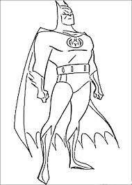 Free Batman Superhero Coloring Pages Printable 4456cf