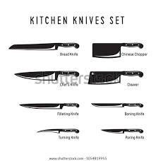 Kitchen Knives Names Suchen Sie Nach Kitchen Knives Monochrome Set Chefs