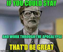 Zombie Office Space