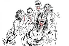 Walking Dead Colouring Pages