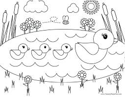 Free Printable Thanksgiving Coloring Pages For Toddlers Online Spring Archives Christmas Colouring Todd Medium Size