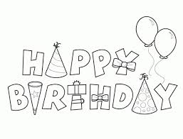 Happy Birthday Mom Coloring Pages Getcoloringpages Pertaining To The Awesome Page Intended