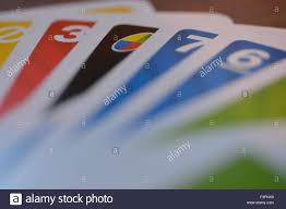 Uno Decks by Deck Of Uno Cards Stock Photo Royalty Free Image 88395953 Alamy